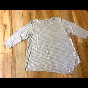 Signature Collection Soft Silver Tunic